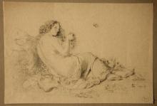 Edoardo Dalbono, Figura femminile