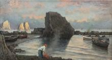 Dalbono, Pescatori a Capri.png