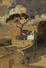 Edoardo Dalbono, Posillipo di notte