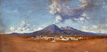 Dalbono, Studio. Il Vesuvio.png