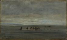 Daubigny, Cercatori di vongole.png