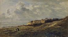 Daubigny, Paesaggio costiero normanno | Normannische Küstenlandschaft (Villerville-sur-Mer) | Paysage côtier normand (Villerville-sur-Mer) | Norman coastal landscape (Villerville-sur-Mer)