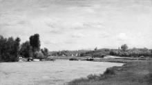 Daubigny, Paesaggio su un fiume.jpg