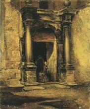 Mario De Maria Antico portale a Venezia | Ancient portal in Venice | Ancien portail à Venise