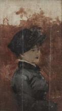 De Nittis (attribuito a), Ritratto di donna.jpg