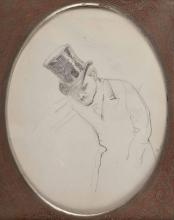 De Nittis (attribuito a), Ritratto di un uomo con cilindro.jpg
