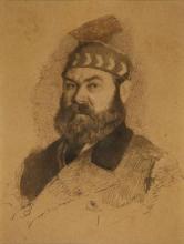 Giuseppe De Nittis, Autoritratto [1880-1884 circa]