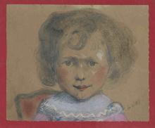 De Nittis, Bambina | Little girl