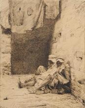 De Nittis, Berberi seduti.jpg