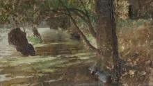 De Nittis, Boscaglie, rive di fiume.jpg