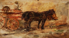 De Nittis, Carretto con cavallo.jpg