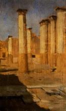 De Nittis, Colonne, il Foro di Pompei.jpg