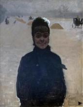 De Nittis, Donna con la veletta [1880].jpg