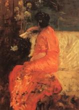 De Nittis, Il kimono color arancio.jpg