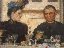 De Nittis, Il pranzo del vescovo [dettaglio 2].jpg