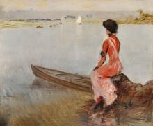 De Nittis, In riva al lago.jpg