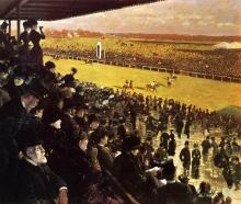 De Nittis, Le corse a Longchamp dalla tribuna.jpg