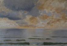 De Nittis, Marina, tramonto fosco.jpg