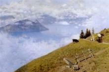 De Nittis, Passeggiata sul lago dei Quattro cantoni.jpg