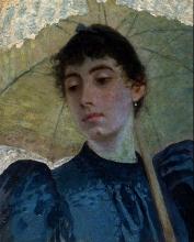 Giuseppe De Nittis, Ritratto di Alaide Banti