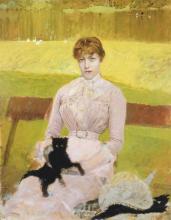 De Nittis, Signora con un gattino nero.png