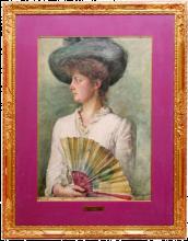 Giuseppe De Nittis, Signora con ventaglio