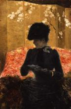 De Nittis, Signora sul divano rosso.png
