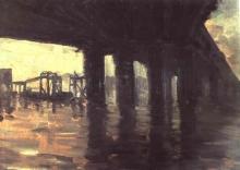 De Nittis, Sotto il ponte (I).jpg