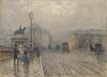 De Nittis, Strada di Parigi con carrozze.jpg