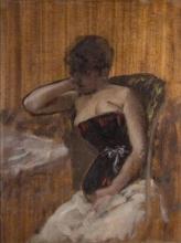 De Nittis, Studio di donna con busto.jpg