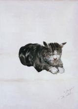 De Nittis, Studio di gatto.png