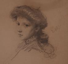 De Nittis, Studio per ritratto femminile [dettaglio].jpg