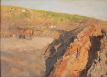 De Nittis, Sulle falde del Vesuvio [1872] [4]