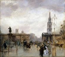 De Nittis, Trafalgar Square [1878].png