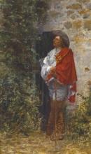 De Nittis, Un cavaliere alla porta.jpg