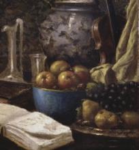 Serafino De Tivoli, Natura morta con frutta [dettaglio]