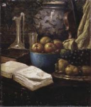 Serafino De Tivoli, Natura morta con frutta