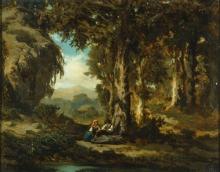 De Tivoli, Riposo nel bosco.jpg