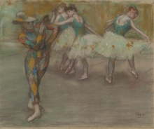Degas, Arlecchino balla | Arlequin danse | Harlequin dancing | Arlequín danzando