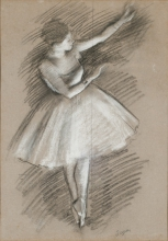 Degas, Ballerina in bianco | Danseuse en blanc | Dancer in white