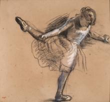 Degas, Ballerina in piedi   Danseuse debout   Standing dancer   Bailarina