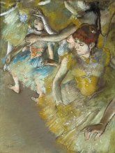 Edgar Degas, Ballerine classiche sul palco | Ballet dancers on the stage