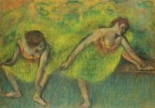 Degas, Due ballerine a riposo.jpg