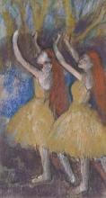 Degas, Due ballerine, le braccia alzate.jpg