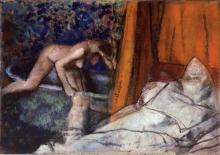 Degas, Il bagno   Le bain   The bath