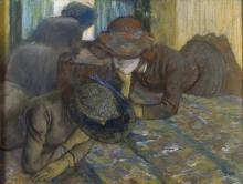 Edgar Degas, La conversazione | La convesation | Die Unterhaltung