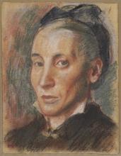 Degas, Ritratto di donna | Portrait de femme | Portrait of a woman
