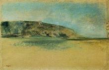 Degas, Spiaggia con la bassa marea   Plage à marée basse   Beach at low tide