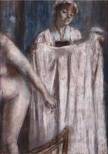 Edgar Degas, Toilette dopo il bagno | Toilette après le bain | Toilette after the bath