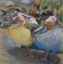 Degas, Tre ballerine | Trois danseuses | Three dancers | Tre danserinder